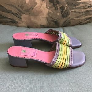 Lily Pulitzer Slide Sandals